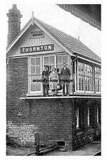 pt5523 - Thornton , Railway Signal Box , Yorkshire - photo 6x4