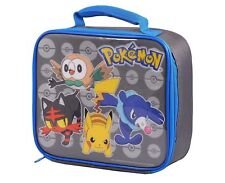 Pokemon Insulated Lunch Bag/Box and Tritan Sipper Bottle 400ml