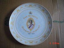 Un Named QUEENS DIAMOND JUBILEE Collectors Plate