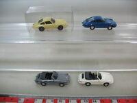 H847-0,5# 4x WIKING H0/ 1:87 Modelle, Porsche 911/911 C, NEUW