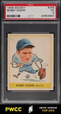 1938 Goudey Bobby Doerr ROOKIE RC #258 PSA 5 EX (PWCC-A)