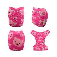 U Pick Alva Cloth Diapers Lot One Size Reusable Washable Pocket Nappies +Inserts