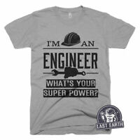 Engineer T Shirt Funny T-Shirts Graduation Gifts Vintage Tees For Men Womens