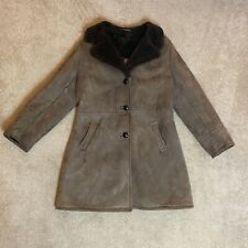 Vintage Bendyk Sheepskin Coat Mens Size 40 (Small)