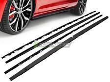 Minigonne laterali sottoporta Volkswagen Golf 7 VII GTI look nere