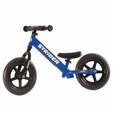 STRIDER 12 Balance Bike Classic Kids No-Pedal Learn To Ride Pre Bike BLUE NEW
