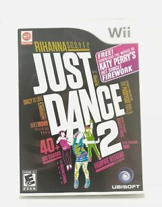 Just Dance 2 (Nintendo Wii,  2010) Tested And Works Fast Free Shipping