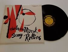 thelonious monk sonny rollins ojc-059 (P-7075) great lp