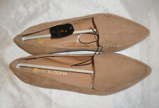 New BIG BUDDHA Ballet Flats,Pointed Toe,Slip-On,Tan Beige Nude,Comfort Slides,10