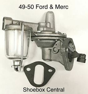 1948 1949 1950 Ford Pickup Flathead V8 New Fuel Pump