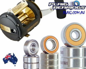 Shimano TLD Bearing Kits Stainless Steel and Ceramic Hybrid