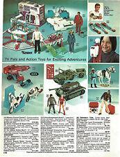 1977 ADVERT Evil Knievel Motorcycle Funny Car JJ Armes Six Million Dollar Man ++