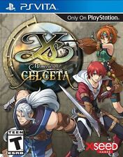 Ys: Memories Of Celceta [Sony PlayStation Vita PSV, Xseed Action RPG Adventure]