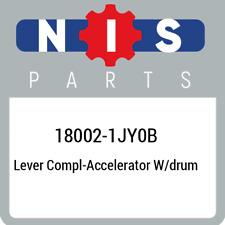 18002-1JY0B Nissan Lever compl-accelerator w/drum 180021JY0B, New Genuine OEM Pa