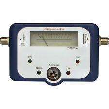 PROFI SATFINDER digital analog Messgerät  Sat Finder Kompass LED Anzeige F-Kabel