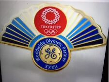 General Electric Tokyo 2020 olympic pin