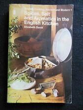 Elizabeth David; Spices, Salt & Aromatics in the English Kitchen - 1977, Cookery