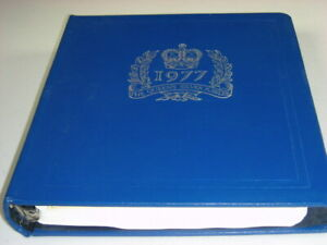 BRITISH COLONIES, 1977 Queen Silver Ju, Mint NH Stamp Collection mounted in a