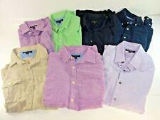 Lot of 7 Mens Banana Republic Slim Fit Button-Down Shirts Assorted Colors Medium
