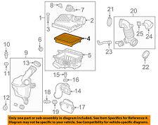 Chevrolet GM OEM 2016 Spark Engine-Air Filter Element 95238310