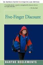 Five-Finger Discount by Barthe DeClements (2000, Paperback)