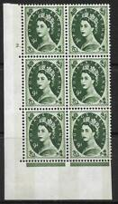 9d Wilding Violet Phos 9.5mm cyl 2 Dot perf type A(E/I) UNMOUNTED MINT