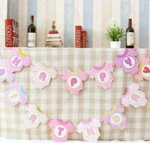 3 Meter baby birthday party flag Bunting banner decoration Theme baby shower
