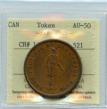 Breton 521, 1837 City Bank, One Penny Token. CH LC-9A3, Courteau 11, ICCS AU-50