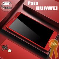 Funda Para Huawei Carcasa Caso 360° Thin Phone Case Cover For Huawei + Vidrio