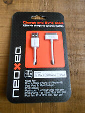 NeoXeo Charge and Sync Cable For Apple iPhone iPad iPod. BRAND NEW