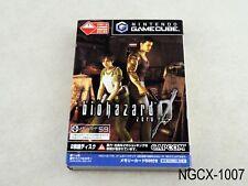 Biohazard 0 + memory card Resident Evil Japanese Import Gamecube GC US Seller