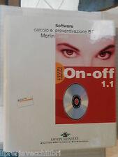 ON OFF 1 1 Software calcolo e preventivazione BT Merlin Gerin 1996 scienza libro
