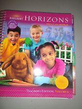 Harcourt Horizons, About My World, Grade 1 Vol. 2 Teacher's Edition 2005