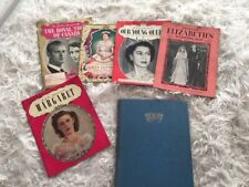 Royal Collection/Bundle of 6 Magazines/Book Queen/Princess Elizabeth & Margaret