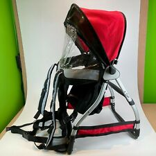 Chicco Caddy Baby Toddler Hiking Backpack Carrier Sunshine Shield & Raincover