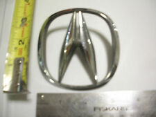 ACURA A  SYMBOL CHROME NAMEPLATE EMBLEM  BADGE OEM USED