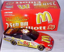 1:24 ACTION 2000 #94 MCDONALD'S 25TH ANNIVERSARY TAURUS BANK BILL ELLIOTT 1/2508