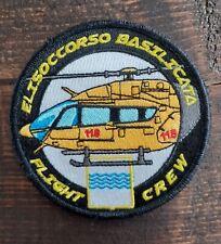 ITALY Helicopter --- Medevac Paramedic Flight Crew Aeromedical HEMS --- PATCH