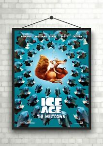 Ice Age The Meltdown Classic Large Movie Poster Print A0 A1 A2 A3 A4 Maxi