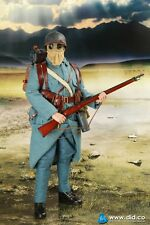 "DID 1/6 Scale 12"" WWI French Soldier Infantryman Pascal Dubois 11003"