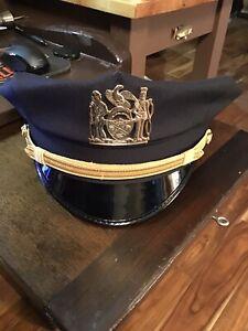 Nypd Sergeants Duty Hat