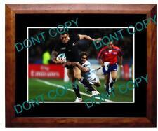 SONNY BILL WILLIAMS NZ ALL BLACKS 2011 W/CUP A3 PHOTO 2