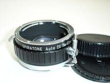 SPIRATONE Auto TELXTENDER ( 2x converter ) lens for NIKON cameras (NON AI )