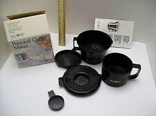Vintage Mr Coffee personal coffee maker QB3 brews in microwave, 10oz, use as mug