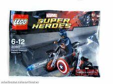 Lego Superhelden Captain America's Motorrad 30447 Neu