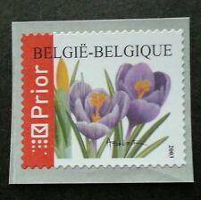 Belgium Flowers - Crocus Vernus 2003 Flora Plant (stamp) MNH *self adhesive