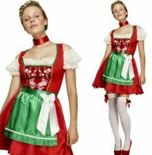 FEVER CHRISTMAS DIRNDL FANCY DRESS  OKTOBERFEST GERMAN - LARGE 16 - 18