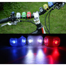 LED Bicycle Cycling Bike Silicone Frog Safety Front Warning Lamp Tail Lights New