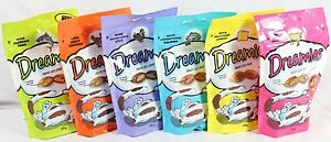 Bulk Buy 12 packs of Dreamies 2 of each flavour Save Postage 12 x 60g bags