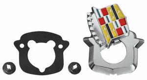 RestoParts Trunk Lock Crest Emblem 1971-1976 Cadillac Eldorado and Fleetwood